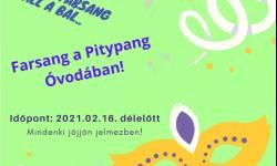 Farsang a Pitypang Sport Óvodában!